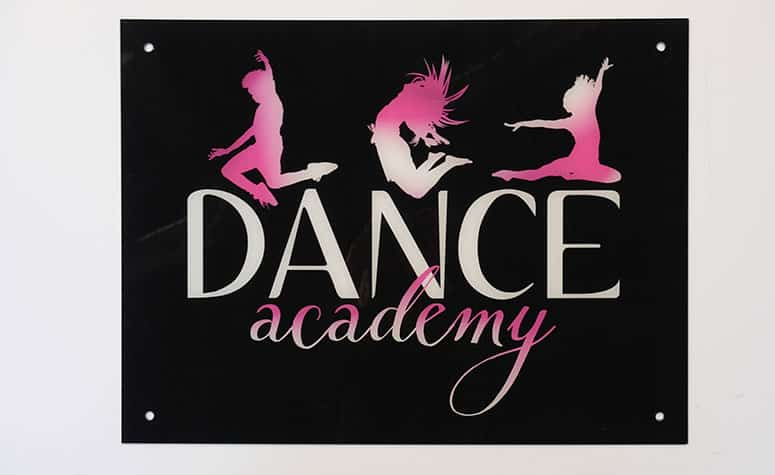 Dance Academy Signage