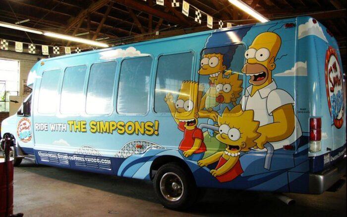 school bus wrap