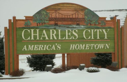 city monument sign