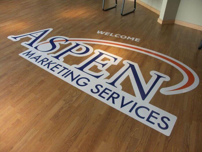 business floor signs