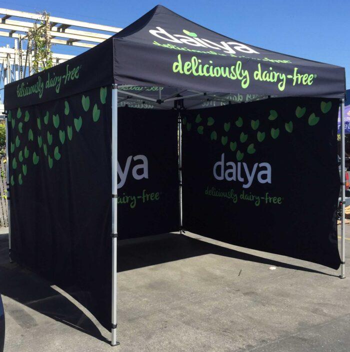 business popup tent