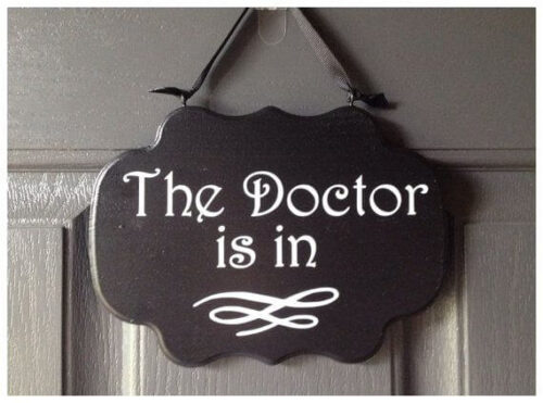 doctor clinic signs