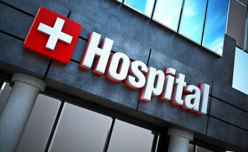 hospital channel letter sign