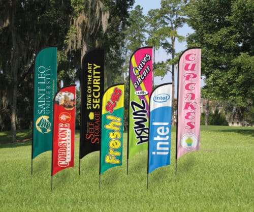 flag signs