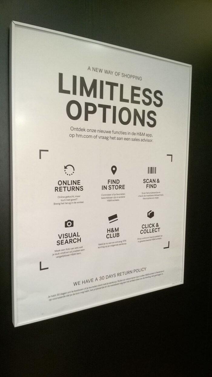 informational sign