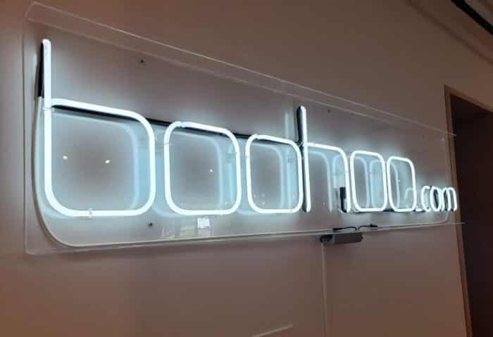 neon wall sign