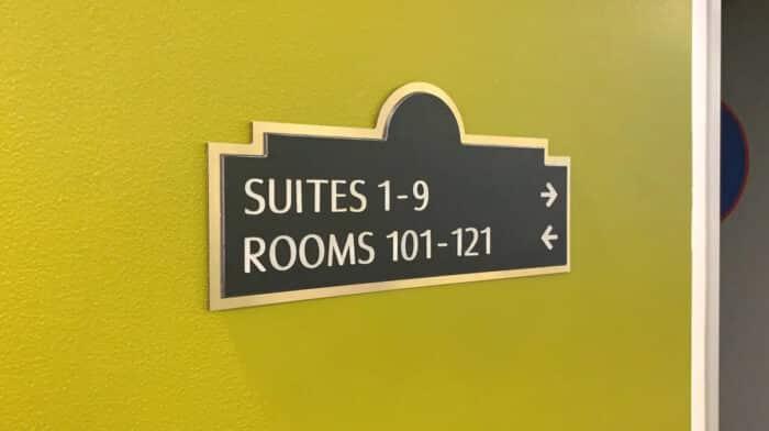 hotel id signs