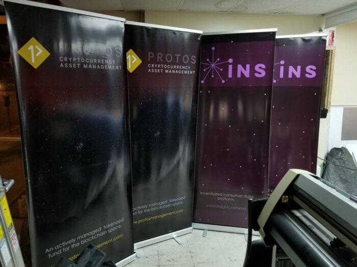 digital printed banners