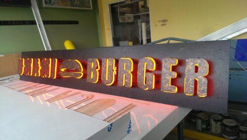 led bar signs