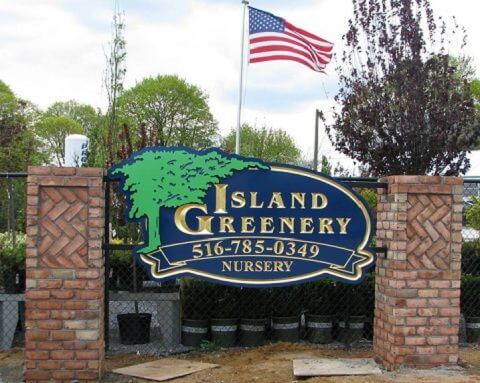 outdoor monument sign