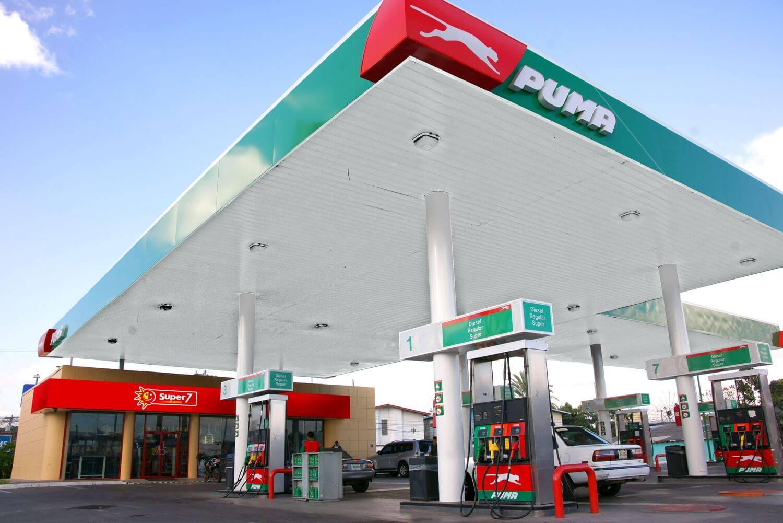 gas station exterior signage