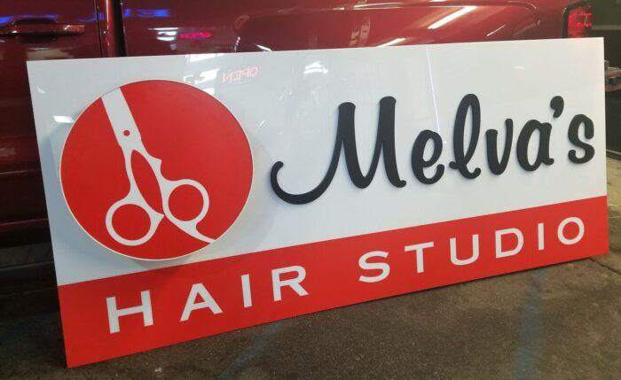 hair studio sign