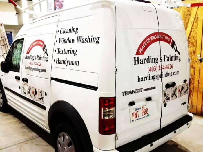 van custom wrap