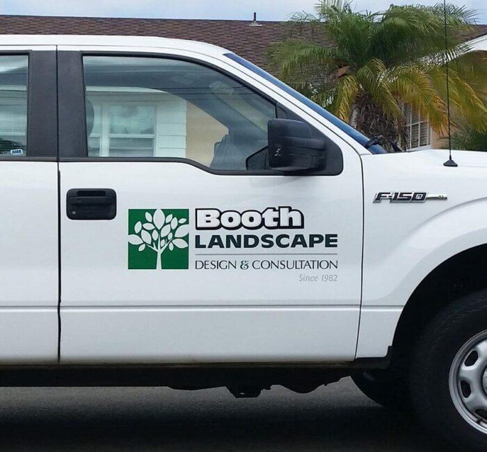 truck vinyl lettering