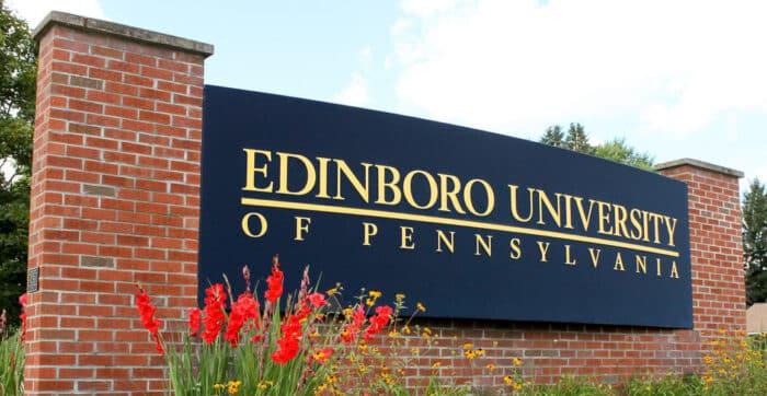 university monument sign