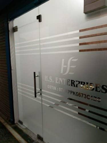 door vinyl