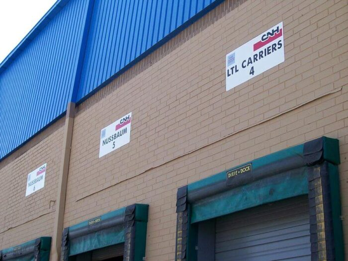 warehouse outdoor sign
