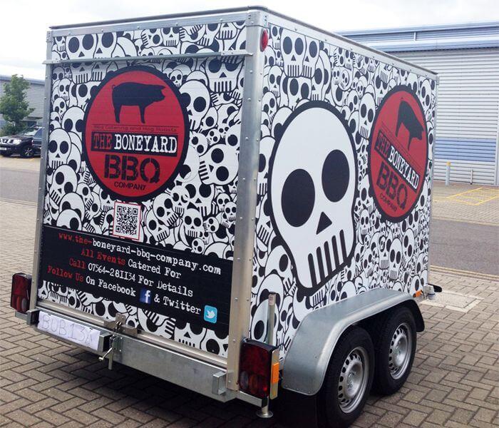 trailer custom wrap