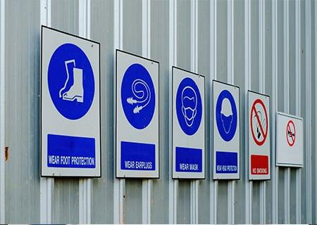 Metal Wall signs